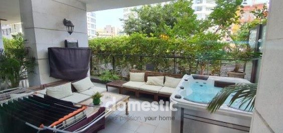 Garden apartment for sale in Gindi TLV