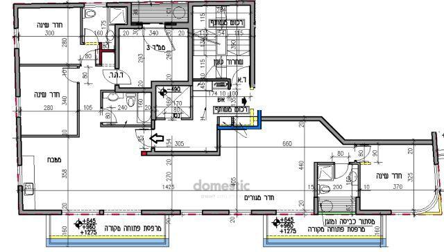 למכירה דירת 5 חדרים בקרבת שוק הכרמל תל אביב