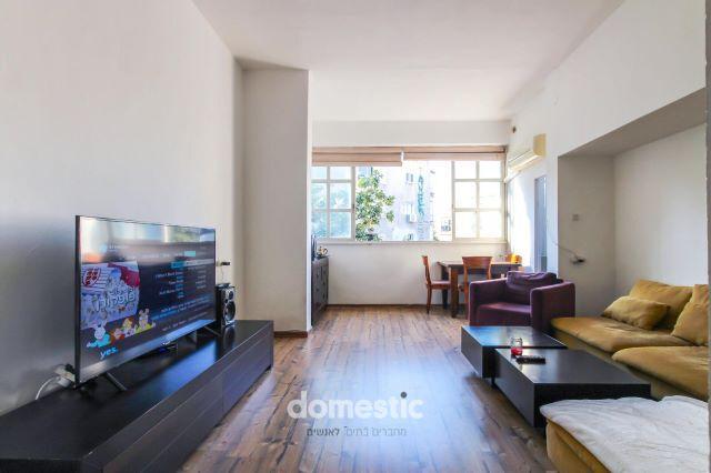 למכירה דירת 3 חדרים עם מעלית במרכז העיר תל אביב